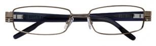 BCBGMaxazria Massimo Eyeglasses Eyeglasses - GUN Gunmetal