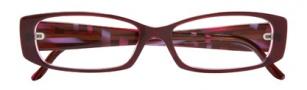 BCBGMaxazria Mia Eyeglasses Eyeglasses - PLU Plum Laminate