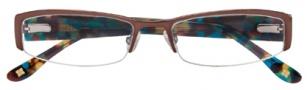 BCBGMaxazria Minerva Eyeglasses Eyeglasses - BRO Brown
