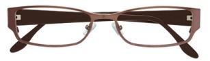 BCBGMaxazria Miranda Eyeglasses Eyeglasses - BRO Brown