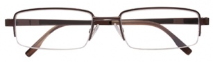 BCBGMaxazria Niccolo Eyeglasses Eyeglasses - BRO Brown