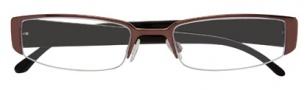 BCBGMaxazria Paloma Eyeglasses Eyeglasses - BRO Brown