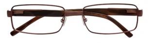 BCBGMaxazria Pierro Eyeglasses Eyeglasses - BRO Brown