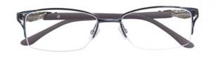 BCBGMaxazria Piper Eyeglasses Eyeglasses - BLU Blue Slate