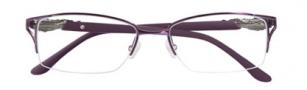 BCBGMaxazria Piper Eyeglasses Eyeglasses - EGG Eggplant