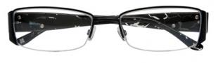 BCBGMaxazria Portia Eyeglasses Eyeglasses - BLA Black