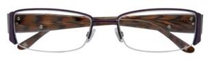 BCBGMaxazria Portia Eyeglasses Eyeglasses - PUR Purple
