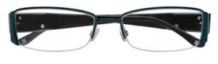 BCBGMaxazria Portia Eyeglasses Eyeglasses - TEA Teal