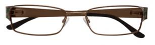 BCBGMaxazria Reiss Eyeglasses  Eyeglasses - BRO Brown