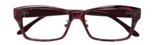 BCBGMaxazria Rhiannon Eyeglasses Eyeglasses - RED Red Multi