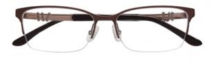 BCBGMaxazria Ryann Eyeglasses Eyeglasses - BRO Brown
