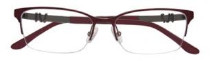 BCBGMaxazria Ryann Eyeglasses Eyeglasses - WIN Wine