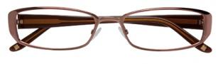BCBGMaxazria Samanta Eyeglasses Eyeglasses - BRO Brown