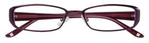 BCBGMaxazria Samanta Eyeglasses Eyeglasses - EGG Eggplant