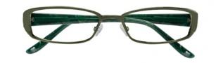 BCBGMaxazria Samanta Eyeglasses Eyeglasses - OLI Olive Green