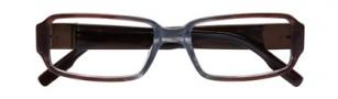 BCBGMaxazria Savino Eyeglasses Eyeglasses - BRO Brown Grey Fade