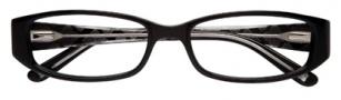 BCBGMaxazria Sebastiana Eyeglasses Eyeglasses - BLA Black Laminate