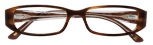 BCBGMaxazria Sebastiana Eyeglasses Eyeglasses - TOR Tortoise Laminate