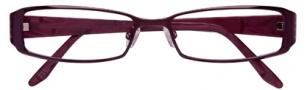 BCBGMaxazria Stefani Eyeglasses Eyeglasses - AUB Aubergine