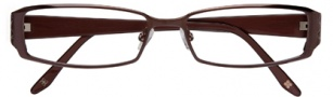 BCBGMaxazria Stefani Eyeglasses Eyeglasses - BRO Brown