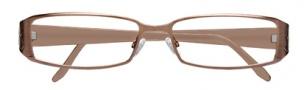 BCBGMaxazria Stefani Eyeglasses Eyeglasses - KHA Khaki