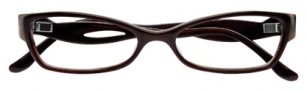 BCBGMaxazria Sybil Eyeglasses Eyeglasses - BRO Brown Horn Laminate