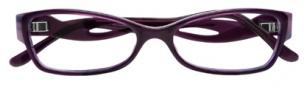 BCBGMaxazria Sybil Eyeglasses Eyeglasses - PLU Plum Horn Laminate
