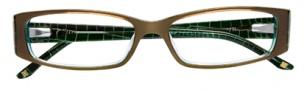 BCBGMaxazria Tessa Eyeglasses Eyeglasses - OLI Olive Laminate