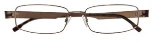 BCBGMaxazria Ugo Eyeglasses Eyeglasses - BRO Brown