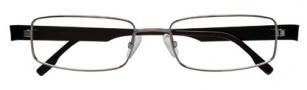 BCBGMaxazria Ugo Eyeglasses Eyeglasses - GUN Gunmetal
