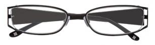 BCBGMaxazria Valentina Eyeglasses Eyeglasses - BLA Black