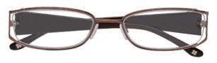 BCBGMaxazria Valentina Eyeglasses Eyeglasses - BRO Brown