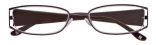 BCBGMaxazria Valentina Eyeglasses Eyeglasses - EGG Eggplant