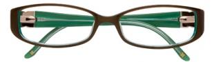 BCBGMaxazria Velia Eyeglasses Eyeglasses - OLI Olive Laminate