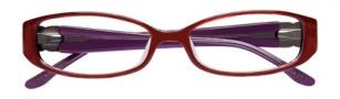 BCBGMaxazria Velia Eyeglasses Eyeglasses - RED Red Laminate