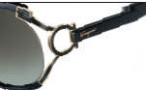 Salvatore Ferragamo SF600S Sunglasses Sunglasses - 001 Black
