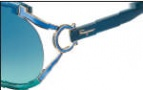 Salvatore Ferragamo SF600S Sunglasses Sunglasses - 446 Blue / Aqua Gradient