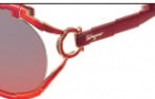 Salvatore Ferragamo SF600S Sunglasses Sunglasses - 612 Red Orange Gradient
