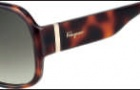 Salvatore Ferragamo SF603S Sunglasses Sunglasses - 214 Tortoise