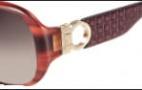 Salvatore Ferragamo SF609S Sunglasses Sunglasses - 216 Striped Brown