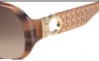 Salvatore Ferragamo SF609S Sunglasses Sunglasses - 217 Brown Horn