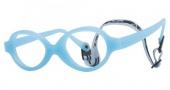 Miraflex Baby Zero 2 Eyeglasses Eyeglasses - EP - Light Blue Pearl