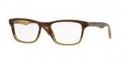 Ray Ban RX5279 Eyeglasses Eyeglasses - 5542 Brown Horn Gradient Beige