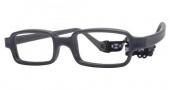 Miraflex New Baby 1 Eyeglasses Eyeglasses - J - Dark Gray