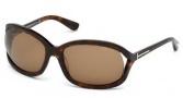 Tom Ford FT0278 Vivienne Sunglasses Sunglasses - 52J Dark Tortoise