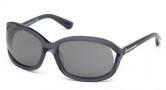 Tom Ford FT0278 Vivienne Sunglasses Sunglasses - 50R Dark Brown / Green Polarized