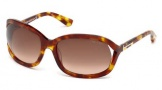 Tom Ford FT0278 Vivienne Sunglasses Sunglasses - 47F Light Brown / Gradient Brown