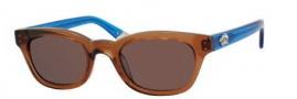 Juicy Couture Juicy 534/S Sunglasses Sunglasses - 01M5 Tigereye Cobalt (H2 brown lens)