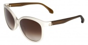 CK by Calvin Klein 4183S Sunglasses Sunglasses - 368 Creme / Olive