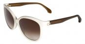 CK by Calvin Klein 4183S Sunglasses Sunglasses - 368 Creme / Olive
